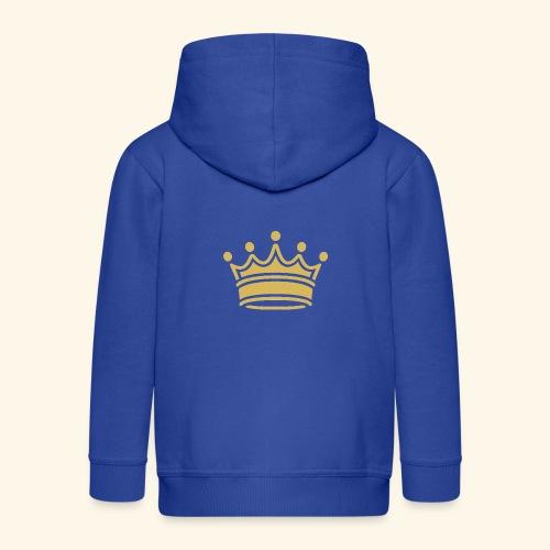 crown - Kids' Premium Zip Hoodie