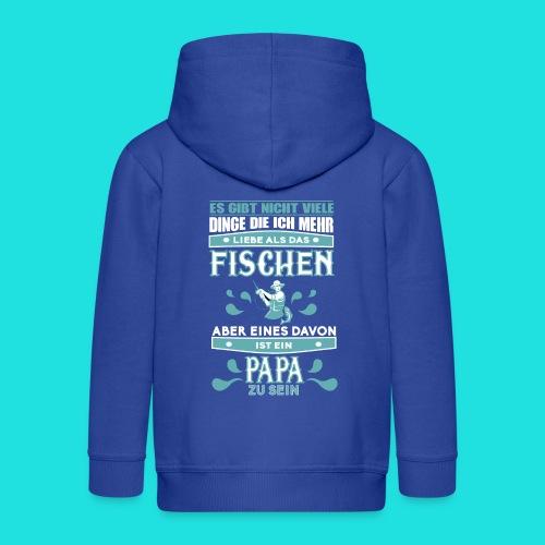 Papa-Fischer - Kinder Premium Kapuzenjacke