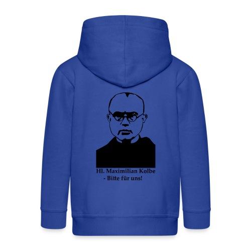 Hl. Maximilian Kolbe - Bitte für uns! - Kinder Premium Kapuzenjacke