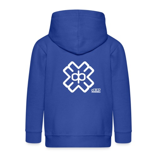 July D3EP Blue Tee - Kids' Premium Zip Hoodie