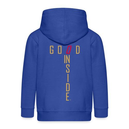GOOD INSIDE - Kids' Premium Zip Hoodie