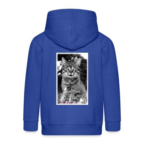 Tiger-Tom - Kinder Premium Kapuzenjacke