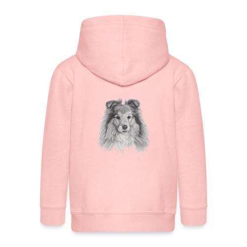 shetland sheepdog sheltie - Premium hættejakke til børn