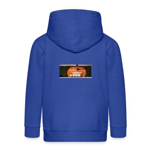 BRUH - Kids' Premium Zip Hoodie