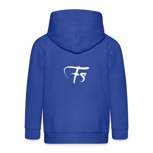 Fs Clothing Italy - Felpa con zip Premium per bambini