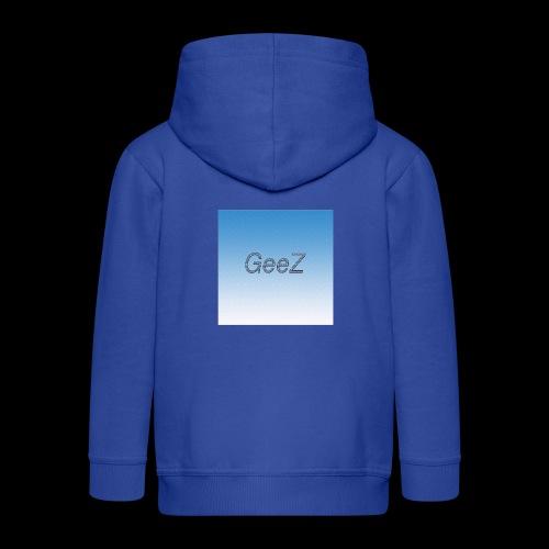 sky blue - Kids' Premium Zip Hoodie