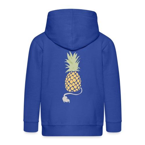 Pineapple demon - Kids' Premium Zip Hoodie
