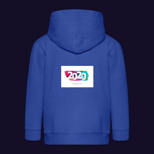 Happy new year 2020 - Kinder Premium Kapuzenjacke