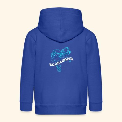 ScubaDiverShirt001 - Kinderen Premium jas met capuchon