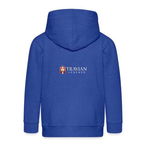 Travian Legends Logo 2 - Kids' Premium Zip Hoodie
