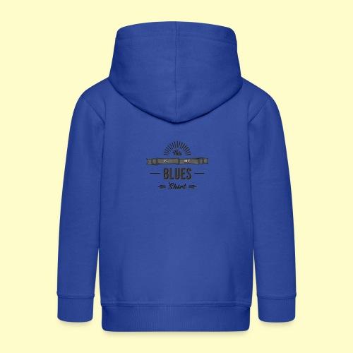 Blues Musik and Dance Shirt - Kinder Premium Kapuzenjacke