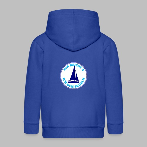 Segelboot Boote mir reichts ich geh segeln - Kinder Premium Kapuzenjacke