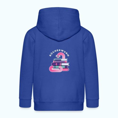 Bücherwurm - Kids' Premium Hooded Jacket