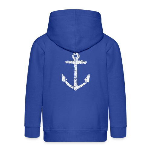 Anker Segel Segler Segelboot - Kinder Premium Kapuzenjacke