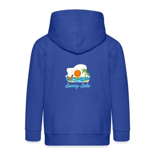 Sunny side - Felpa con zip Premium per bambini