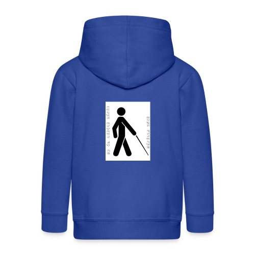 Blind T-Shirt - Kids' Premium Zip Hoodie