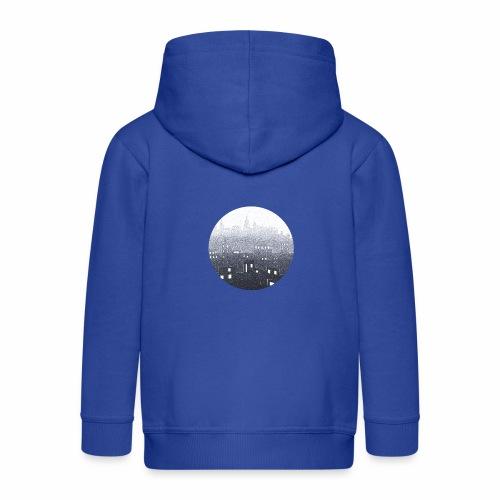 city hall snow blue - Veste à capuche Premium Enfant