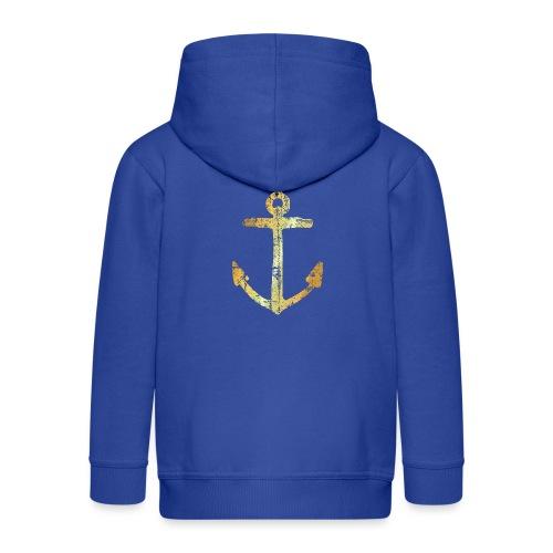 Anker Segeln Segler Segelboot - Kinder Premium Kapuzenjacke
