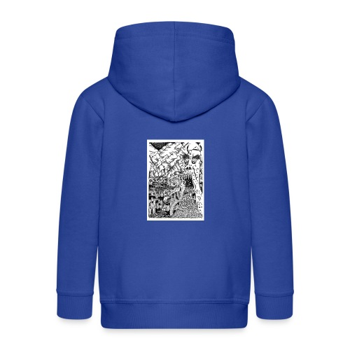 Sea Monsters T-Shirt by Backhouse - Kids' Premium Zip Hoodie