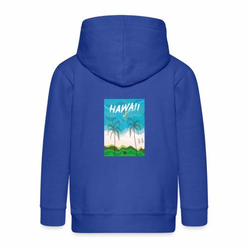 Hawaii - Kids' Premium Zip Hoodie