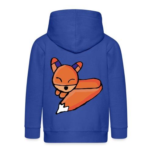 Edo le renard - Veste à capuche Premium Enfant