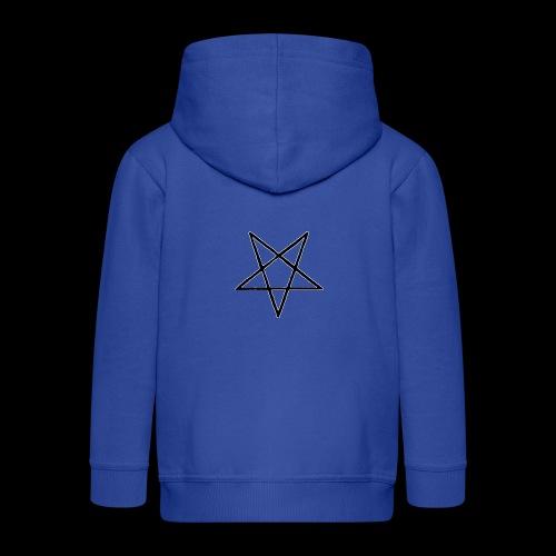Pentagram4 png - Kinder Premium Kapuzenjacke