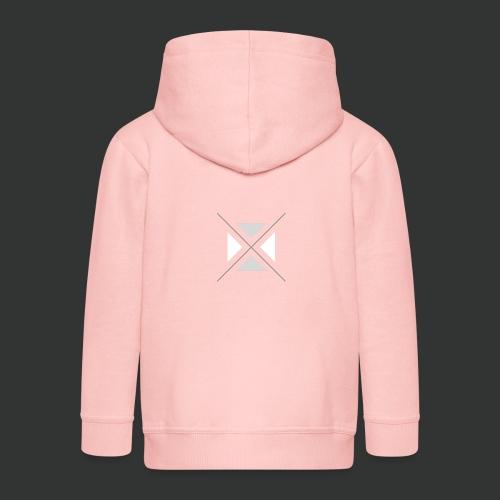 triangles-png - Kids' Premium Zip Hoodie