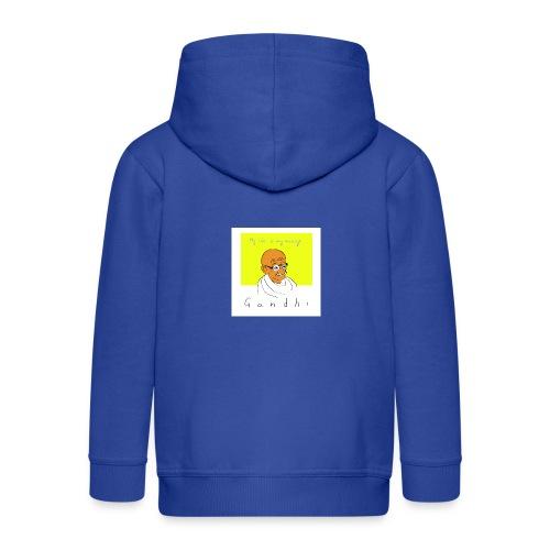 Gandhi - Kinder Premium Kapuzenjacke