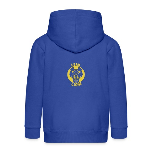Lean Lions Merch - Kids' Premium Zip Hoodie