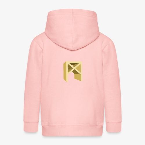 Rune Mannaz - Kinder Premium Kapuzenjacke