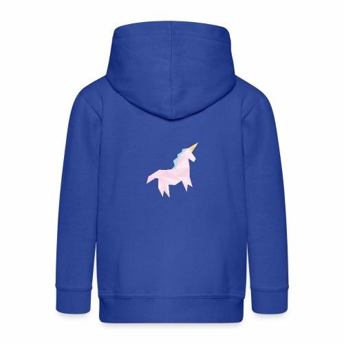 licorne géométrique - Veste à capuche Premium Enfant