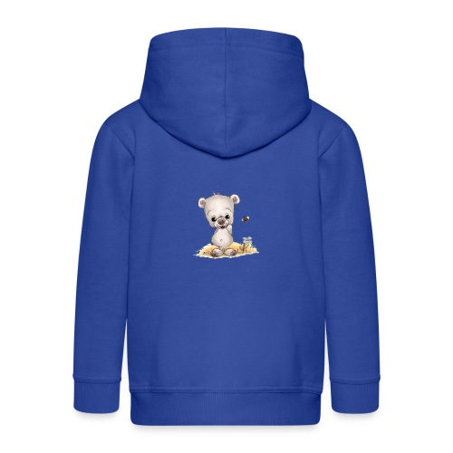 Noah der kleine Bär - Kinder Premium Kapuzenjacke