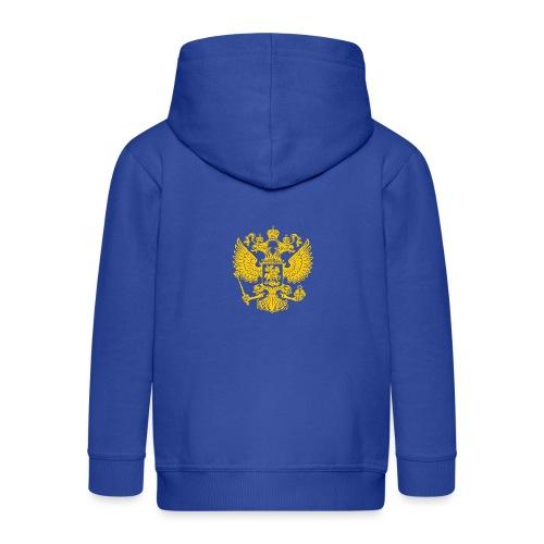 Russia Adler GOLD - Kinder Premium Kapuzenjacke