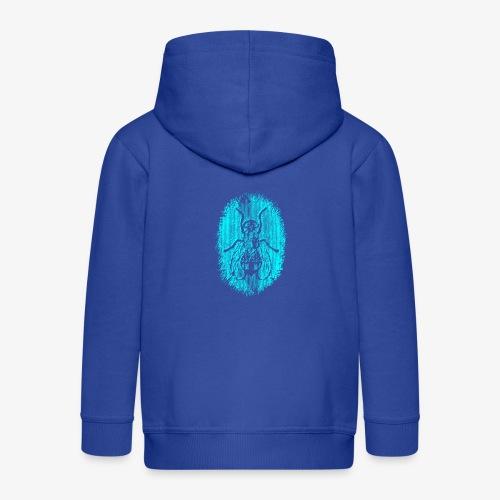 Fluga Turquoise - Premium-Luvjacka barn