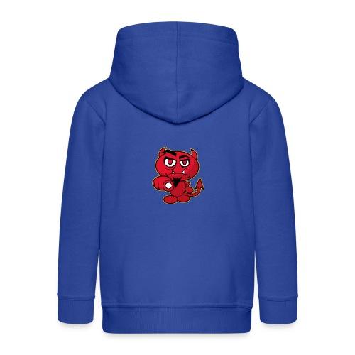 Monster Devil - Kids' Premium Zip Hoodie