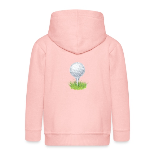Golf Ball PNG Clipart - Chaqueta con capucha premium niño