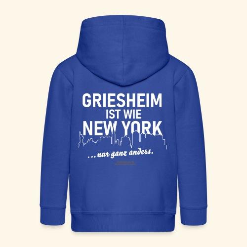 Griesheim - Kinder Premium Kapuzenjacke