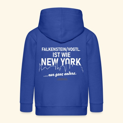Falkenstein Vogtland - Kinder Premium Kapuzenjacke