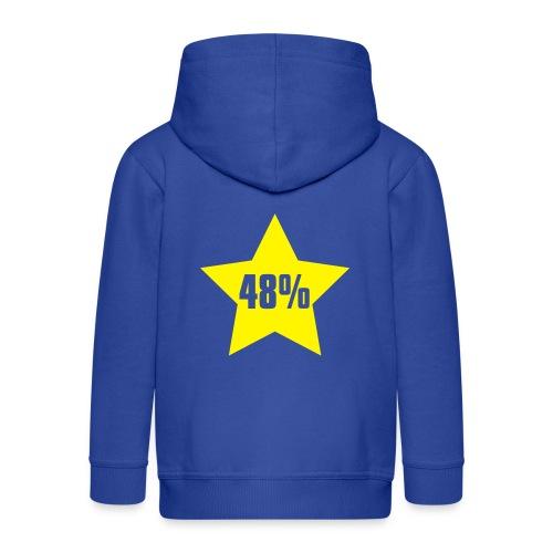 48% in Star - Kids' Premium Hooded Jacket