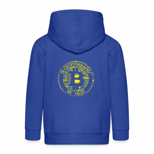 In cryptography we trust 2 - Kids' Premium Hooded Jacket