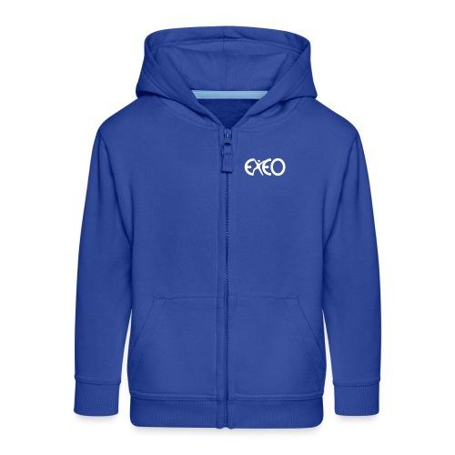 EXEO Logo rot - Kinder Premium Kapuzenjacke