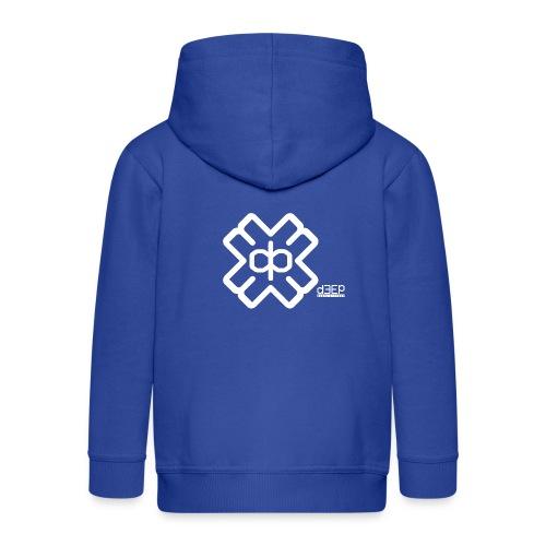 July D3EP Blue Tee - Kids' Premium Hooded Jacket