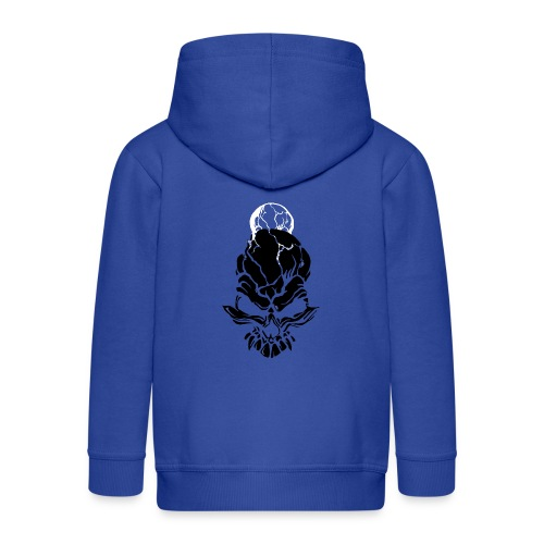 F noize fronte png - Kids' Premium Hooded Jacket