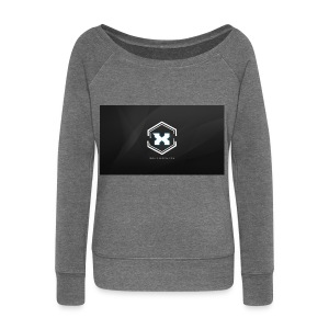 Mousepad! - Women's Boat Neck Long Sleeve Top