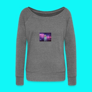 sloth - Women's Boat Neck Long Sleeve Top