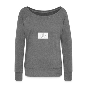 Desighner - Women's Boat Neck Long Sleeve Top