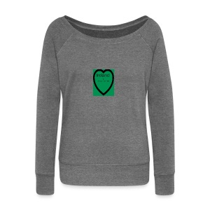 Ireland always in my heart - Women's Boat Neck Long Sleeve Top