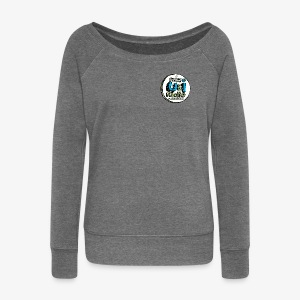 U & I Logo - Women's Boat Neck Long Sleeve Top