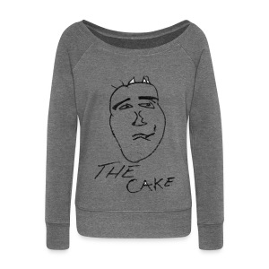 The Cake - Women's Boat Neck Long Sleeve Top