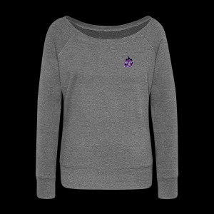 RF LOGO - Women's Boat Neck Long Sleeve Top